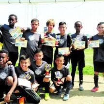 Barcelona  U10, Campeones del Torneo Cardinal Days