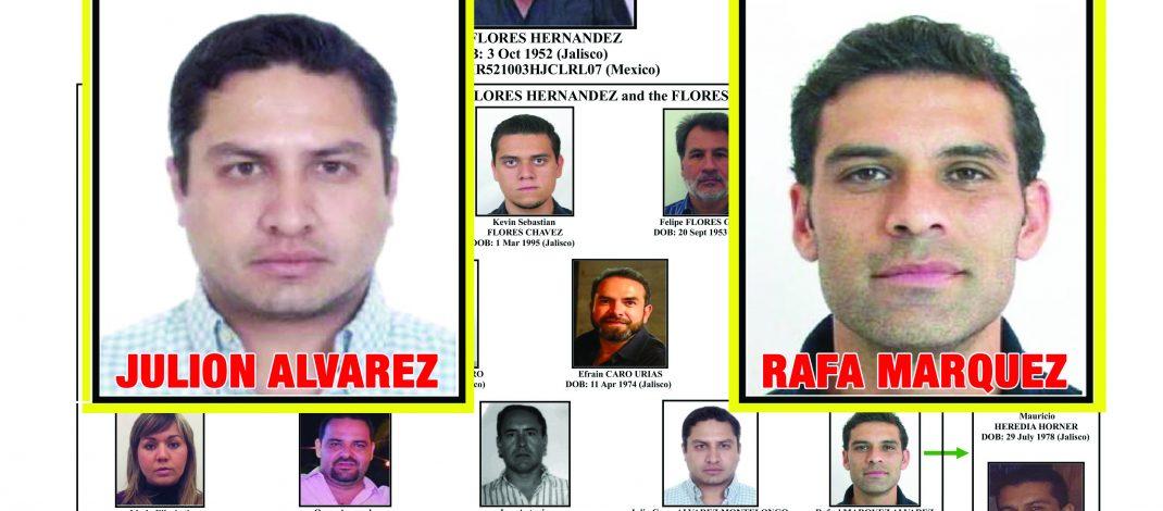Vinculan a Rafa Marquez y Julión Alvarez con el narco