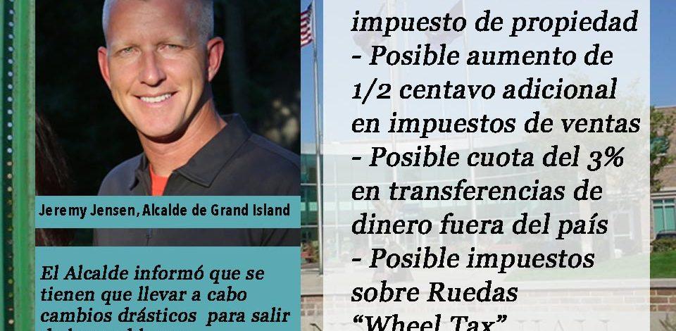 Ciudad de Grand Island:  Propuestas de la Alcaldía para problemas presupuestarios